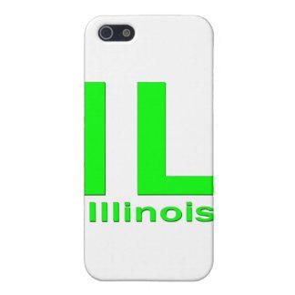 Einfaches Grün IL Illinois iPhone 5 Cover