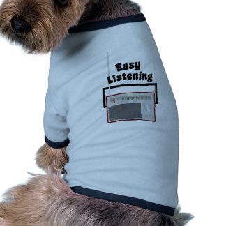 Einfaches Hören Hund T Shirts