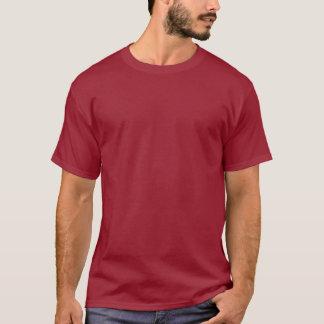 Einfaches Kastanienbraun > das grundlegende dunkle T-Shirt
