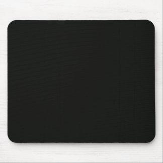 Einfaches leeres schwarzes Grau DIY addieren Mousepad