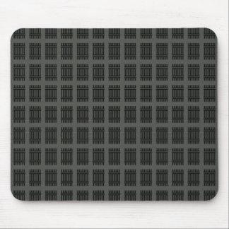 Einfaches leeres schwarzes Grau DIY addieren Mousepads