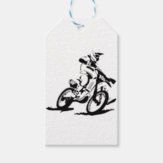 Einfaches Motorcross Fahrrad und Reiter Geschenkanhänger