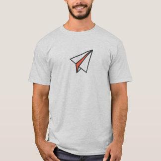 Einfaches PapierFlugzeug-Ikonen-Shirt T-Shirt