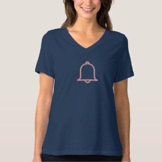 Einfaches rosa Motification Ikonen-Shirt T-Shirt