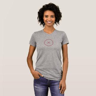 Einfaches Rosa multiplizieren Ikonen-Shirt T-Shirt
