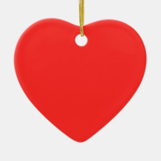 Einfaches ROT: Kaufen Sie LEERES oder addieren Sie Keramik Ornament