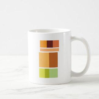 Einfaches sauberes modernes minimales kaffeetasse