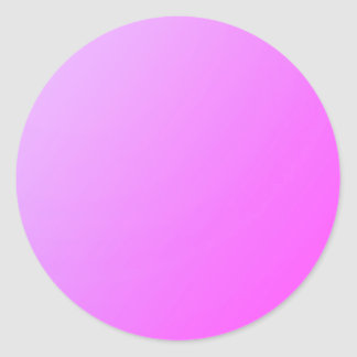 Einfaches Schatten-Rosa: Schreiben Sie an oder Runder Aufkleber