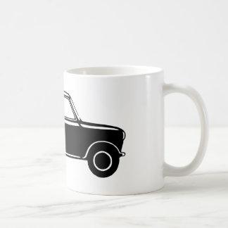 Einfaches schwarzes Mini Kaffeetasse