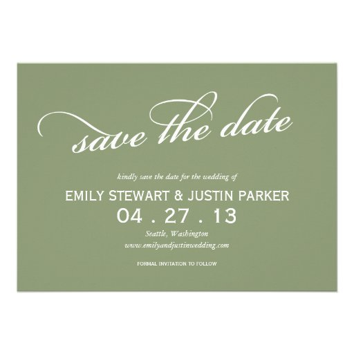 einfaches Skript Save the Date Einladungskarte