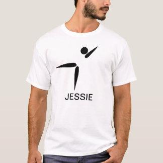 Einfaches Trommelgymnast-Gymnastik-Symbol T-Shirt