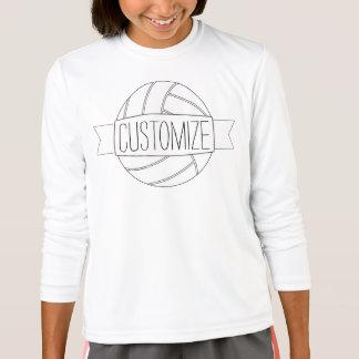 Einfaches weißes T-Shirt