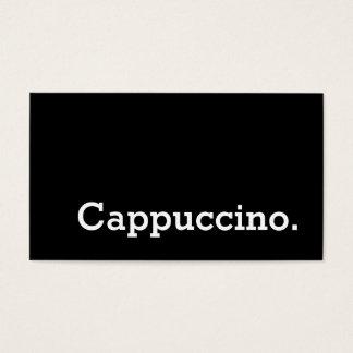 Einfaches Wort-dunkle Visitenkarten