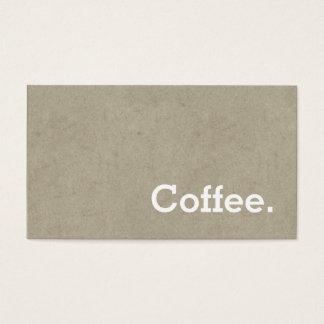 Einfaches Wort-dunkler Visitenkarte