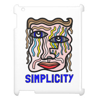 """Einfachheit"" iPad, iPad Mini, iPad Mini2, iPad Ai iPad Hülle"
