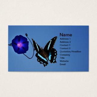Einfachheit Visitenkarte