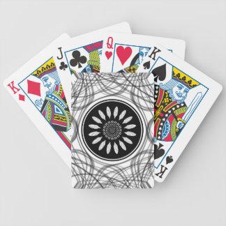 Einfarbige Mitte Bicycle Spielkarten