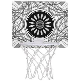 Einfarbige Mitte Mini Basketball Netz