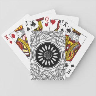 Einfarbige Mitte Spielkarten