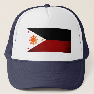 Einfarbige Philippinen-Flagge Truckerkappe