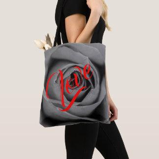 Einfarbige Rosen-Liebe-Taschen-Tasche Tasche