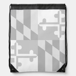 Einfarbige Tasche Maryland-Flagge - *CUSTOMIZABLE* Sportbeutel