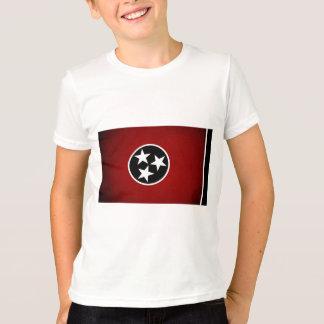 Einfarbige Tennessee-Flagge T-Shirt