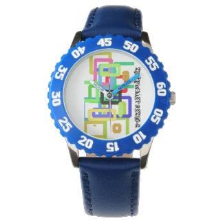 Einfassungs-Uhr Grafetti Uhr