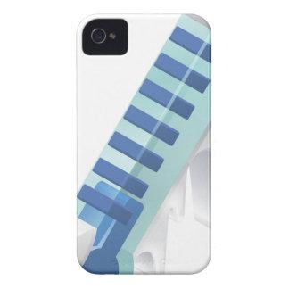 Einfrierender kalter Thermometer iPhone 4 Hüllen