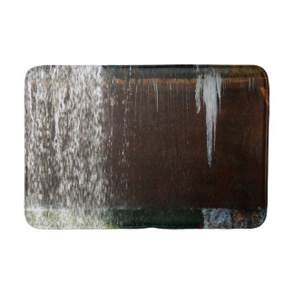 Einfrierendes Wasser Badematte