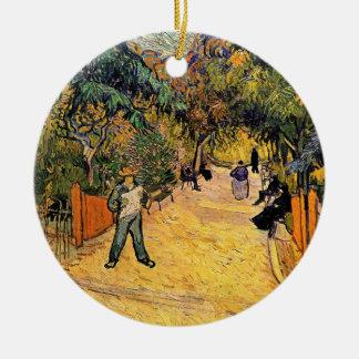 Eingang zum allgemeinen Park durch Vincent van Keramik Ornament