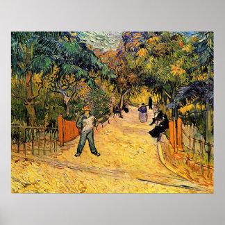 Eingang zum allgemeinen Park durch Vincent van Poster