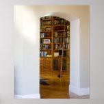 Eingang zur Zuhause-Bibliothek Poster