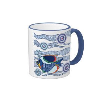 Eingeborene Fisch-Tasse