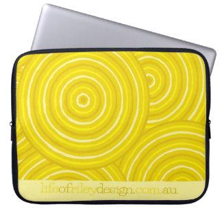 Eingeborene Linie Malereicomputerhülsen Laptop Schutzhülle