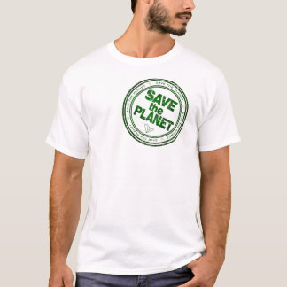 Eingebrannt gehen Grün T-Shirt
