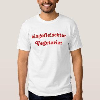 eingefleischter Vegetarier Tshirts