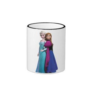 Eingefroren dem Film Ringer Tasse