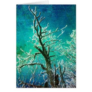 Eingefroren Grußkarte