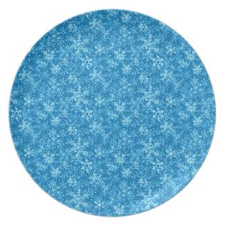 Eingefroren Flache Teller