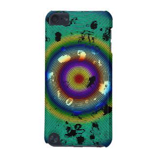 Eingekreistes Mehrfarbenmuster iPod Touch 5G Hülle