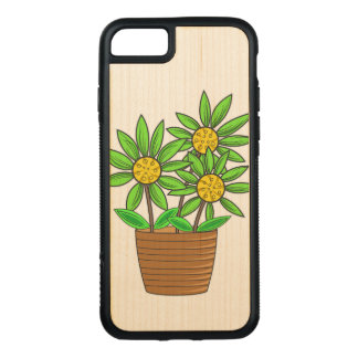 Eingemachte Sonnenblumen Carved iPhone 8/7 Hülle