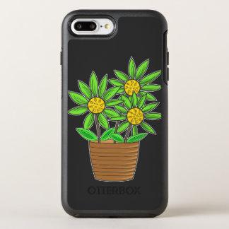 Eingemachte Sonnenblumen OtterBox Symmetry iPhone 8 Plus/7 Plus Hülle