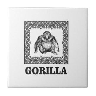 eingepackter Gorilla Fliese