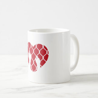 Eingeschlossen in der Liebe Kaffeetasse