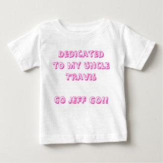 Eingeweiht meinem uncleTravisGO JEFF GEHEN Sie!! Baby T-shirt