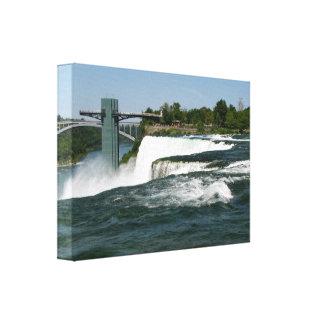 Eingewickelte Leinwand Niagara Falls #3