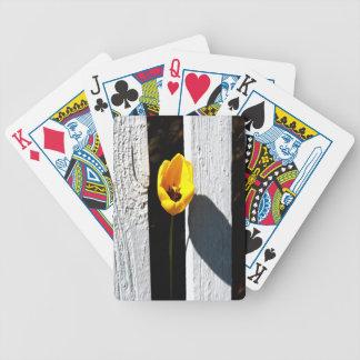 Eingezäunte Tulpe Bicycle Spielkarten