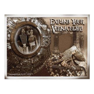 Einheimische Postkarte