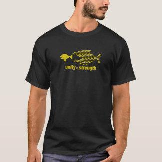 Einheit ist Stärken-T-Shirt für Männer T-Shirt